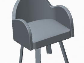 proe椅子3D建模作品欣赏