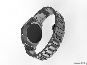 proe手表表带3D建模渲染效果图