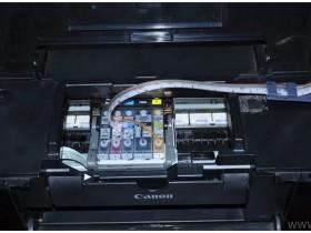 佳能打印机显示缺墨时的解决办法