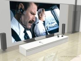 家庭影院3D渲染效果图作品欣赏