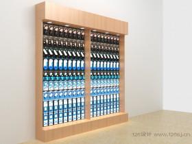电子产品展柜3D效果图作品