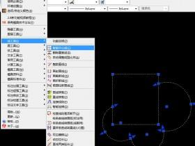 如何在autocad自动生成不规则图形的中心参考线