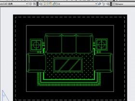 AutoCAD中如何更改布局背景颜色?