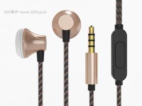 ProE耳机产品建模渲染效果图(三)