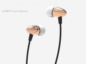 ProE耳机产品建模渲染效果图(二)