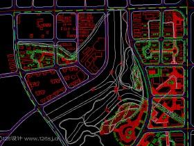 autocad地图代画图纸欣赏