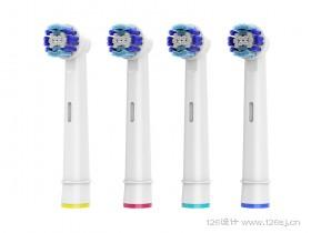 电动牙刷产品3D效果图作品展示(二)