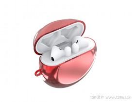 华为耳机保护套3D建模渲染效果图