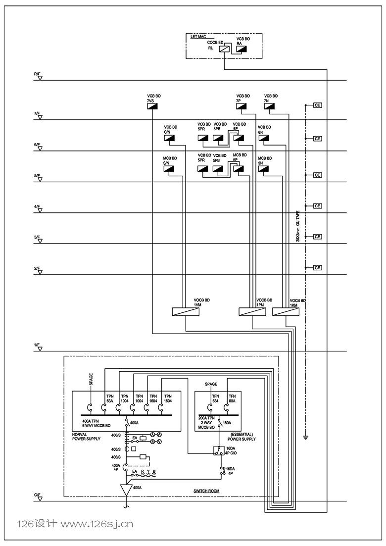 autocad电路图