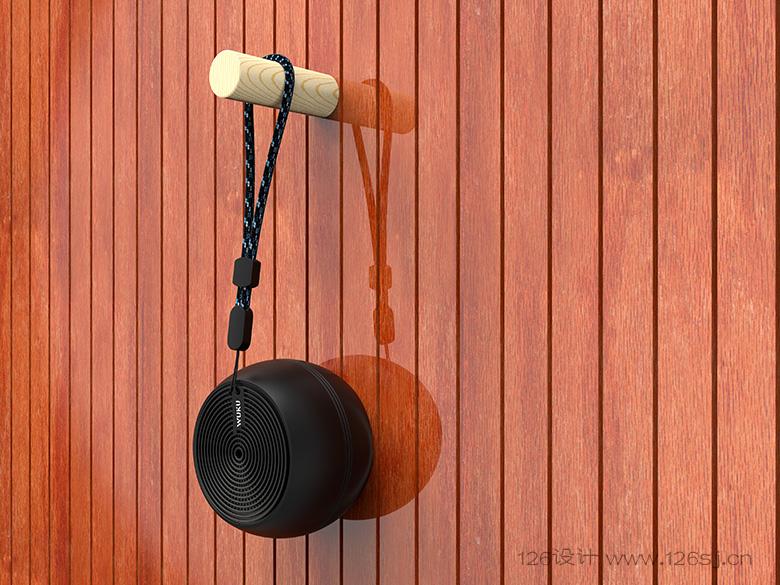 蓝牙音响3D渲染效果图