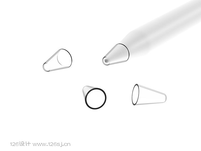 手写笔3D建模渲染效果图作品